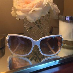 New Jimmy Choo White Mini JJ/S Sunglasses